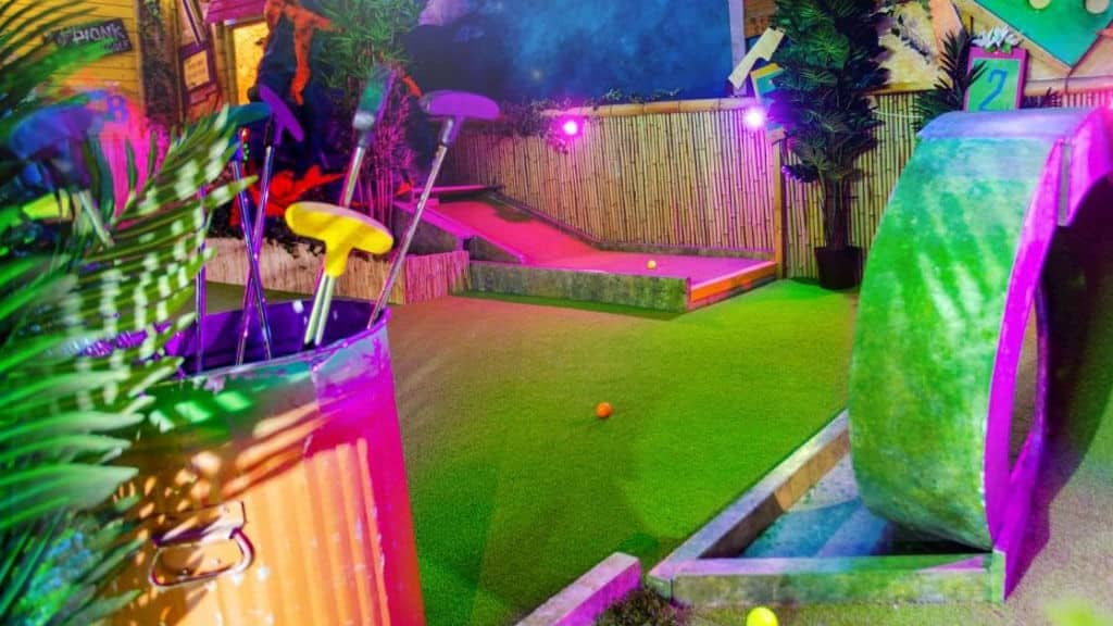 Shoreditch Crazy Golf Course