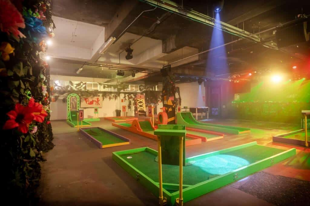 Plonk crazy golf venue