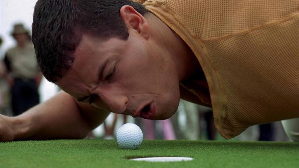 Happy-Gilmore-with-Adam-Sandler-mini-golf