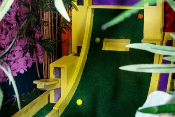 LUDOS Crazy Golf Course