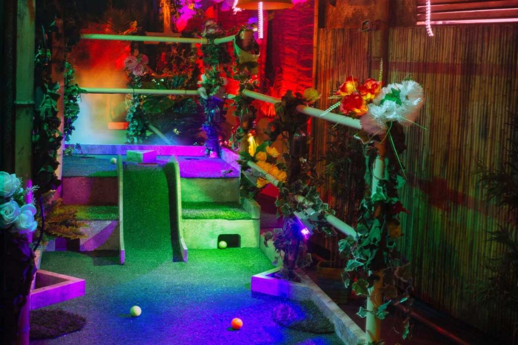 London Fields crazy golf course