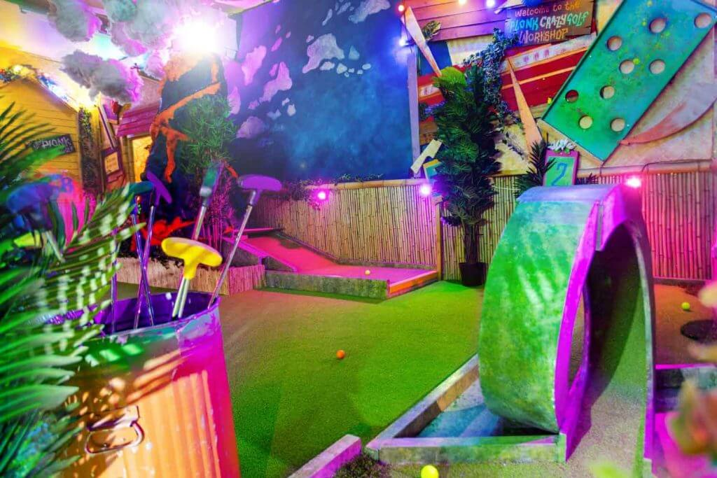 Shoreditch crazy golf