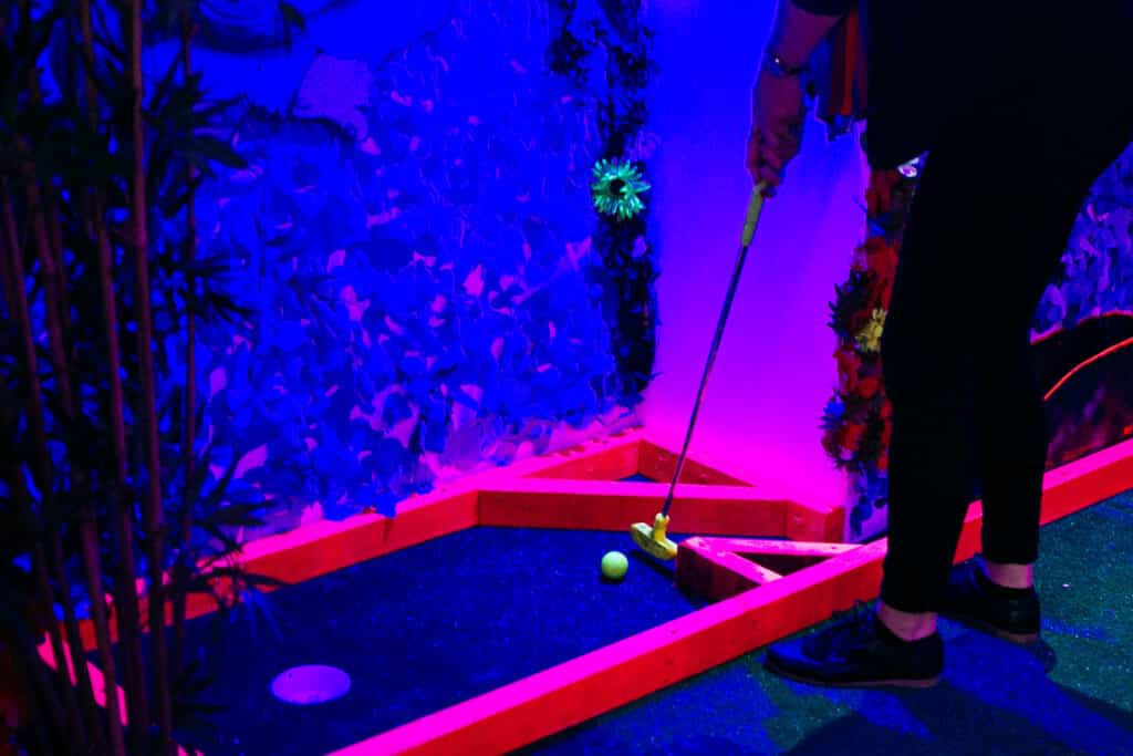 crazy golf course